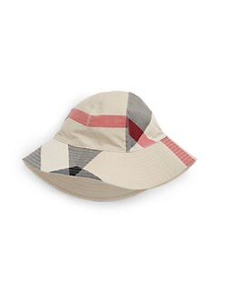 Burberry - Kid's Reversible Check Bucket Hat