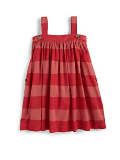 Burberry - Little Girl's Stripe Trapeze Dress