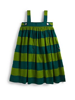 Burberry - Little Girl's Striped Trapeze Dress