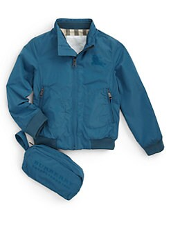 Burberry - Toddler's & Little Boy's Packable Nylon Windbreaker