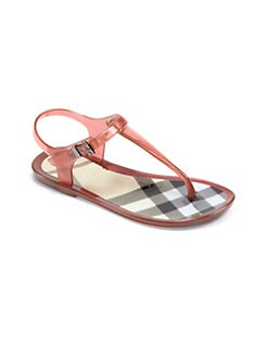 Burberry - Girl's Jelly Sandals
