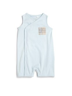 Burberry - Infant's Check Pocket Coverall