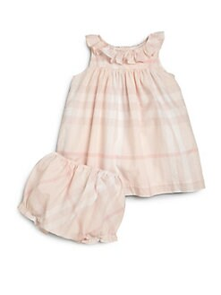 Burberry - Infant's Check Dress