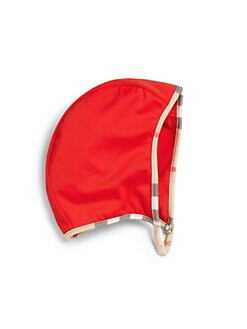 Burberry - Infant's Check-Trimmed Swim Cap
