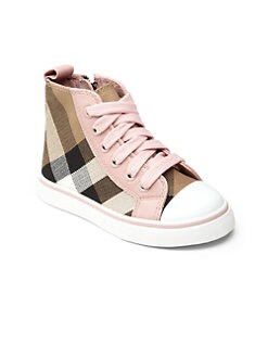 Burberry - Infant's & Toddler's High-Top Sneakers