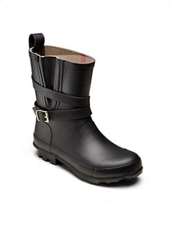 Burberry - Little Girl's & Girl's Moto Rainboots