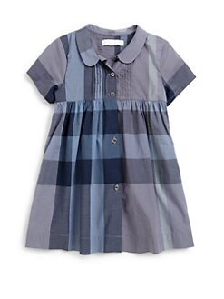 Burberry - Toddler's Woven Check Dress