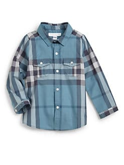 Burberry - Toddler's Woven Check Shirt