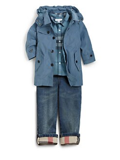 Burberry - Toddler's Nylon Hooded Rain Jacket