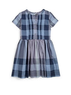 Burberry - Little Girl's Woven Check Dress