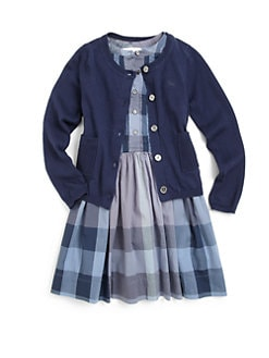 Burberry - Girl's Cotton Cardigan