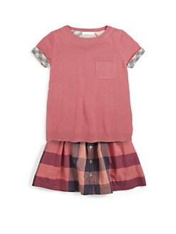 Burberry - Little Girl's Cashmere & Cotton Sweater