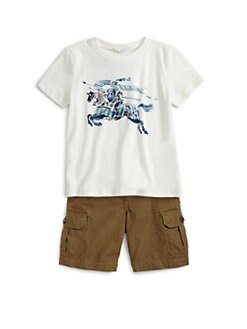 Burberry - Little Boy's Prorsum Knight Tee