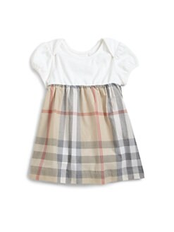 Burberry - Infant's Classic Check Dress