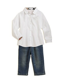 Burberry - Infant's Poplin Shirt