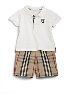 Burberry - Infant's Pique Polo