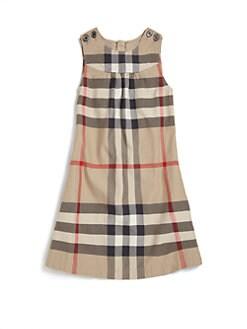 Burberry - Girl's Check Dress