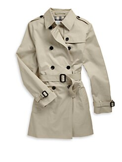 Burberry - Girl's Trenchcoat