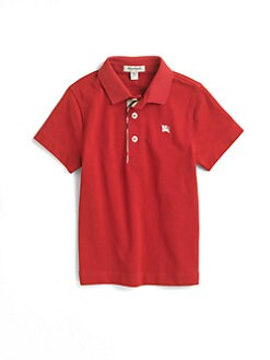 Burberry - Boy's Pique Polo