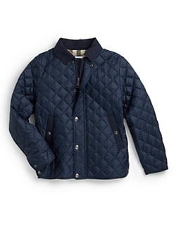Burberry - Little Boy's Luke Quilted Jacket