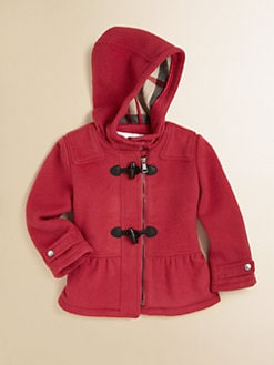 Burberry - Infant's Wool Duffle Coat