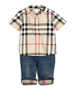 Burberry - Infant's & Toddler's Check Shirt