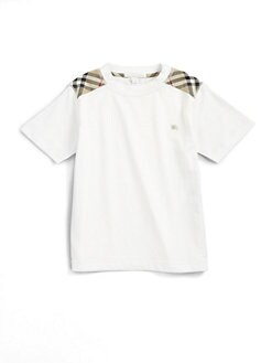 Burberry - Infant's Shoulder Patch Tee