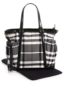 Burberry - Diaper Tote Bag
