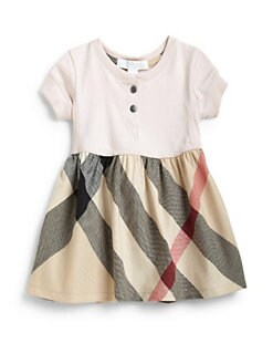 Burberry - Toddler's Cotton Check Dress