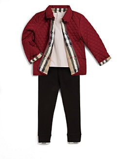 Burberry - Toddler's Quilted Jacket
