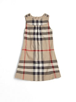 Burberry - Little Girl's Check Dress