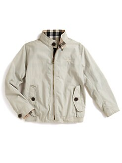 Burberry - Little Boy's Reversible Windbreaker Jacket