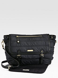 Burberry - Nylon Messenger Diaper Bag