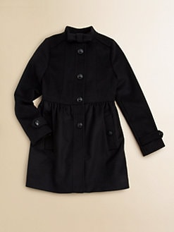 Burberry - Little Girl's Wool/Cashmere Dress Coat