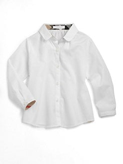 Burberry - Toddler's Poplin Shirt