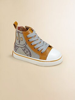 Burberry - Infant's, Toddler's & Kid's Alphie Canvas High-Top Sneakers