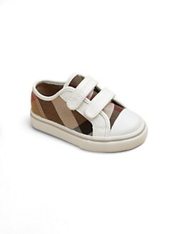 Burberry - Infant's & Toddler's Check Low-Top Sneakers