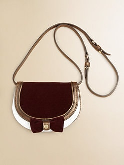 Burberry - Girl's Leather Crossbody Bag