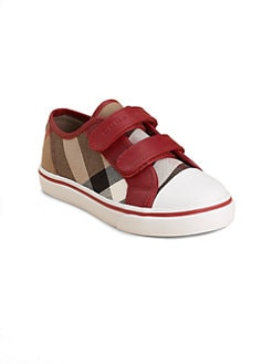 Burberry - Infant's, Toddler's & Kid's Check Low-Top Sneakers