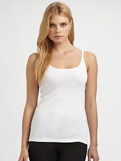 Eileen Fisher - Baby Rib Long Tank