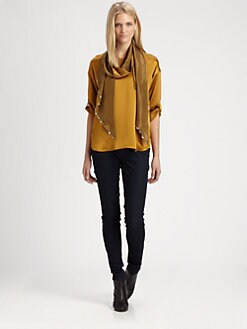Eileen Fisher - Silk Ballet Top