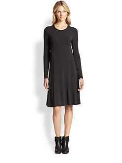 Eileen Fisher - Jersey Knee-Length Dress