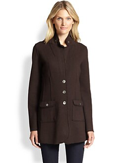 Eileen Fisher - Double-Knit Jacket
