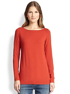 Eileen Fisher - Jersey Long Top