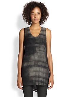 Eileen Fisher - Silk Printed Tunic