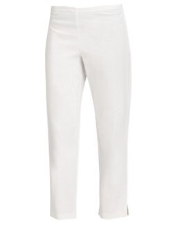 Eileen Fisher - Stretch Organic Cotton Ankle Pants