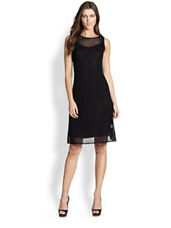 Eileen Fisher - Mesh Caged Slipdress