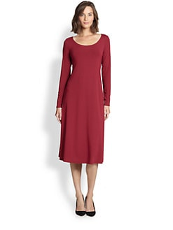 Eileen Fisher - Stretch Jersey Dress