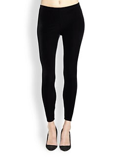 Eileen Fisher - Velvet Ankle-Length Leggings