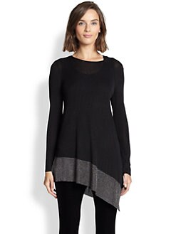 Eileen Fisher - Metallic Colorblock Tunic